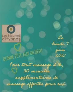 7 juin 2021 promotion massage